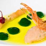Tartar de Gamba Blanca con Plancton - Chef Angel Leon